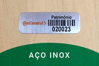 etiquetas-de-patrimonio-aço-inox-continental-polen-comercial