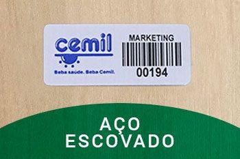 etiquetas-de-patrimonio-aco-escovado-CEMIL-polen-comercial